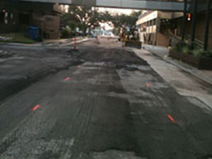 New Orleans Paving Contractor Before