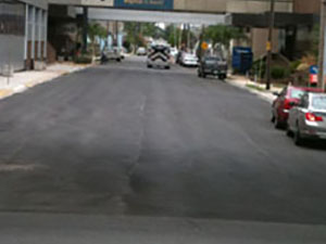 Street Resurfacing After